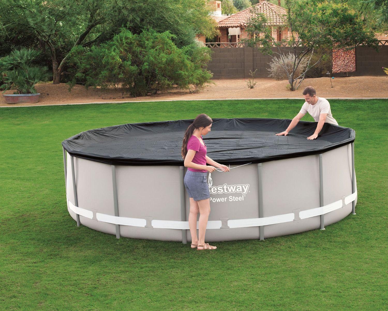Telo copertura solare per piscina 366 cm