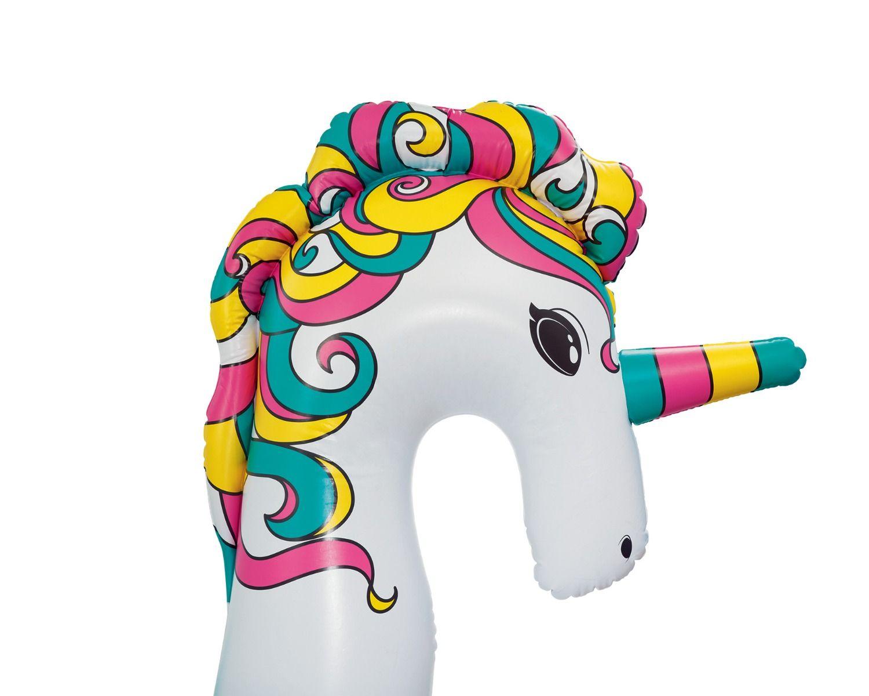 Unicorno gonfiabile gigante 6 posti