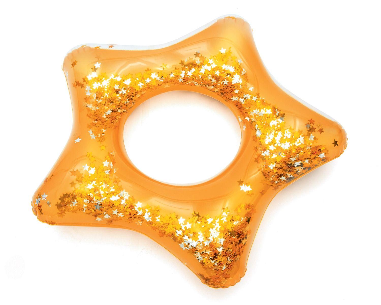 Ciambella gonfiabile Glitter Fusion Giallo