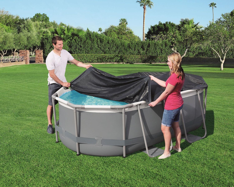 Copertura piscina 3,00 m x 2,00 m x 84 cm