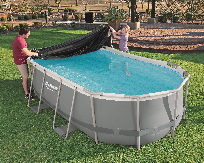 Copertura piscina 4,27 m x 2,50 m x 1,00 m