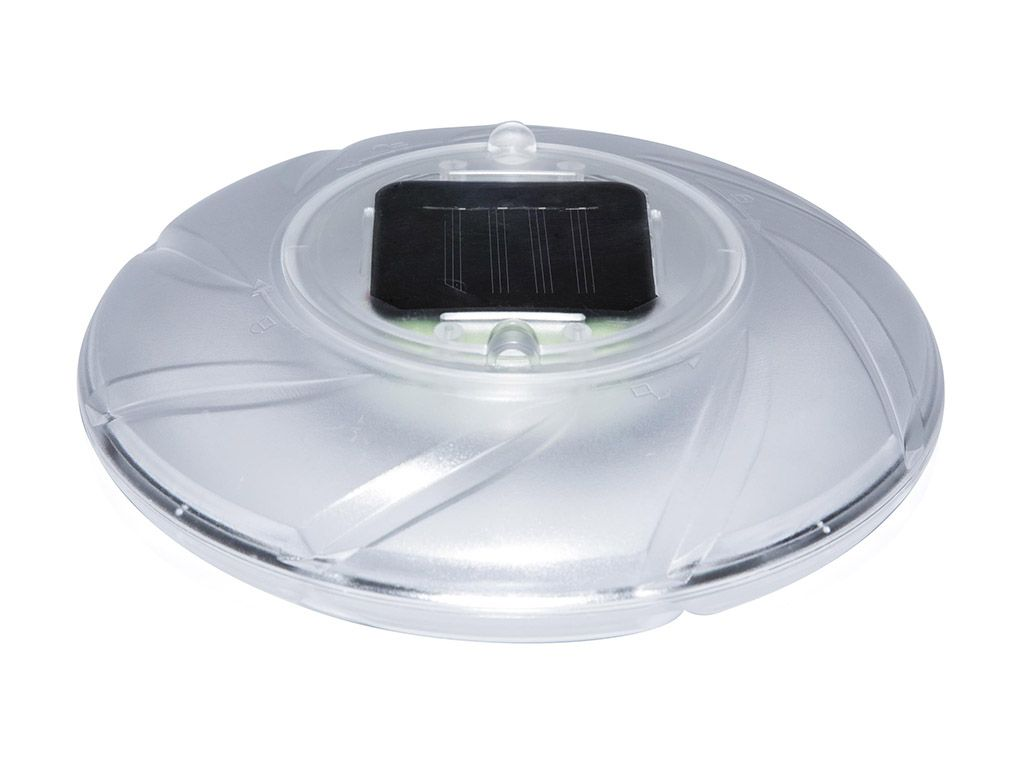 Luci galleggianti solari a LED, 18 cm