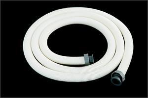 Tubo da 4.5 m Ø38mm con ghiere per pompe a cartuccia e filtri a sabbia con filtraggio superiore a 3.785 l/h