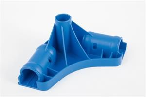 Supporto angolare per piscina Steel Pro rettangolare con lunghezza 4.00m x 2.11m x 81 cm