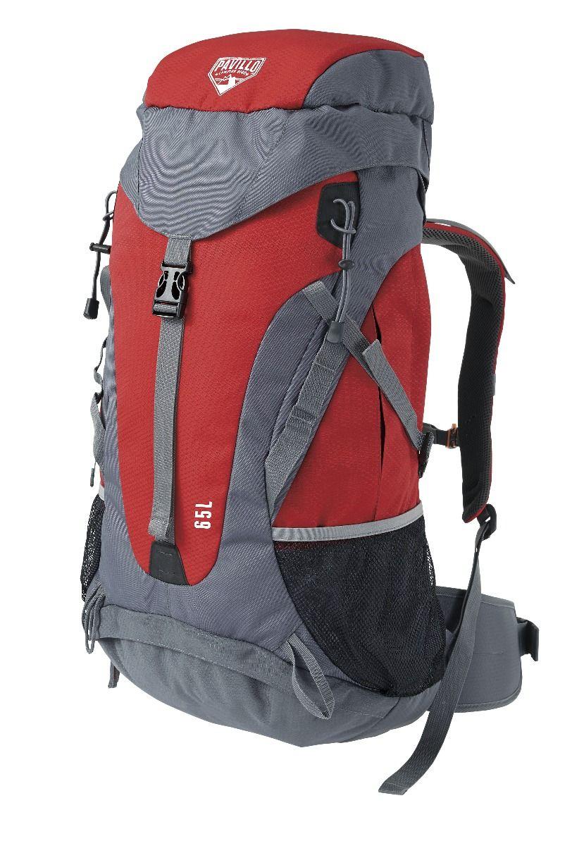 Bestway 68030 | Pavillo - Zaino Dura Trek- 65 Litri- 70X32X22 cm- Con Copertura Impermeabile