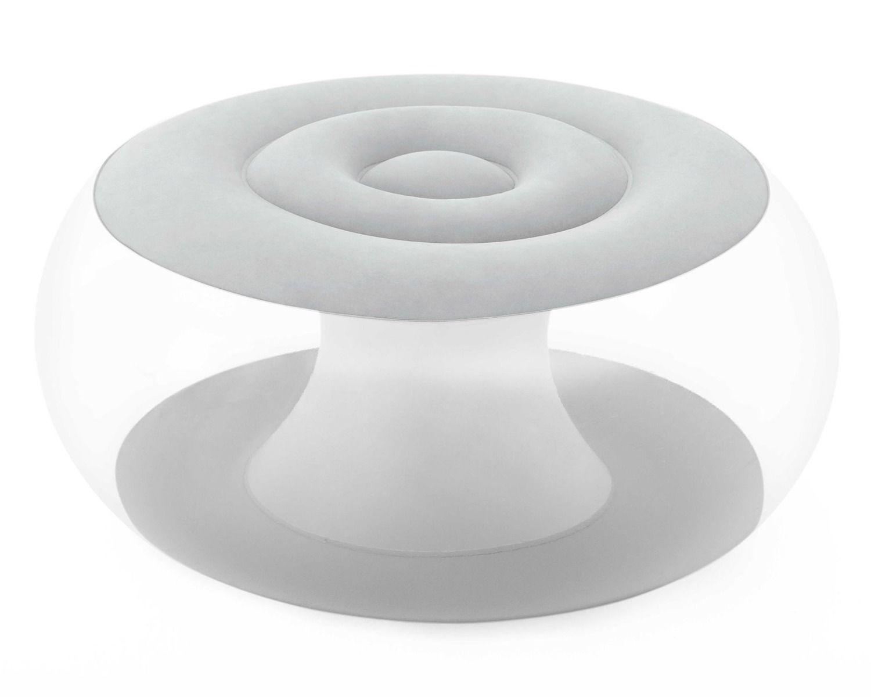 Pouf gonfiabile mini con luce LED integrata