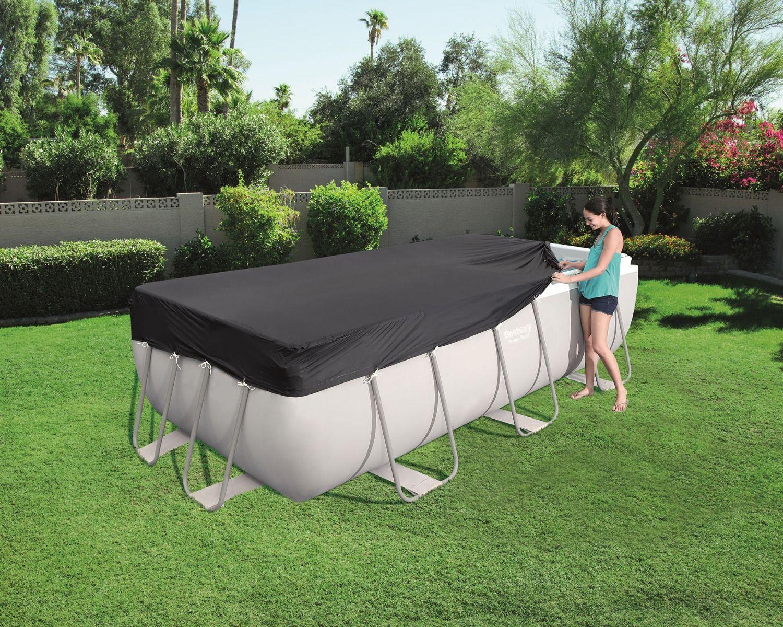 Telo copertura piscina 404 x 201 cm
