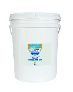 Cloro granulare 56% - 25 Kg