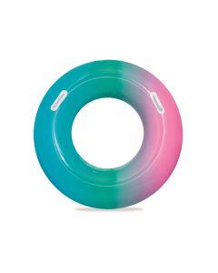 Ciambella gonfiabile Arcobaleno rosa