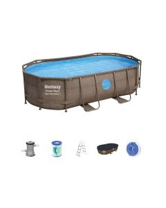 Piscina Power Steel Swim Vista ovale 427x250x100 cm