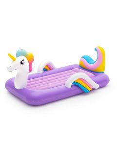 Lettino gonfiabile per bambini Unicorn DreamChaser