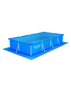 Telo base per piscina 400x211x81 cm