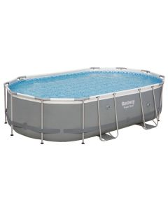 Piscina di ricambio ovale Power Steel 488x305x107 cm
