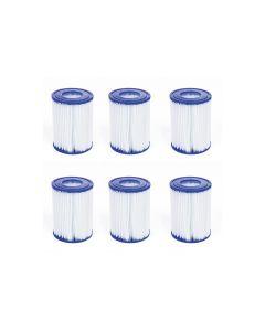 Filtro a cartuccia tipo II (6 pezzi)
