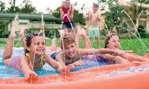 Con i nostri giochi d'acqua per bambini il divertimento è assicurato