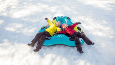 Bob da neve per adulti e bambini per divertirsi in compagnia