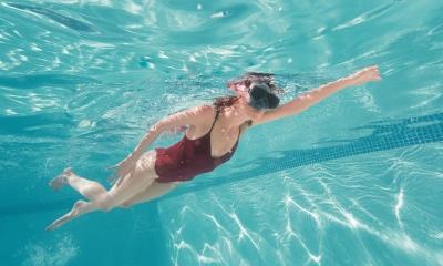 Si può nuotare in una piscina fuori terra?