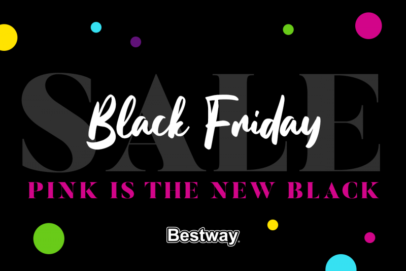 Il Black Friday di Bestway ti aspetta con una coloratissima sorpresa