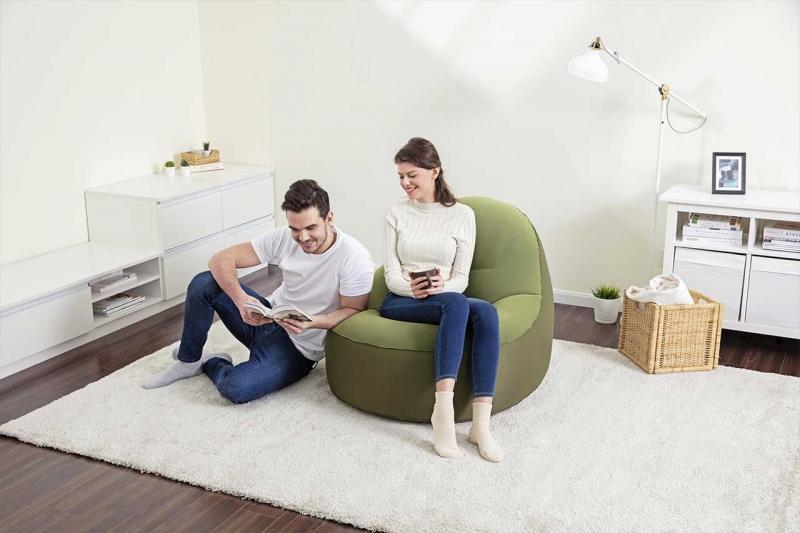 Come arredare casa con i pouf: in ogni stanza un'idea originale