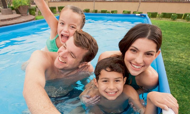Come montare una piscina Steel Pro rettangolare Bestway